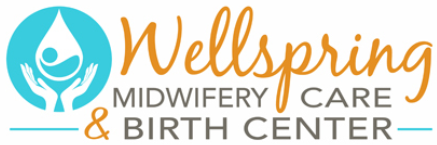 Wellspring midwifery care and birth center logo.